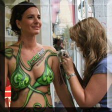 Bodypainting Promotion